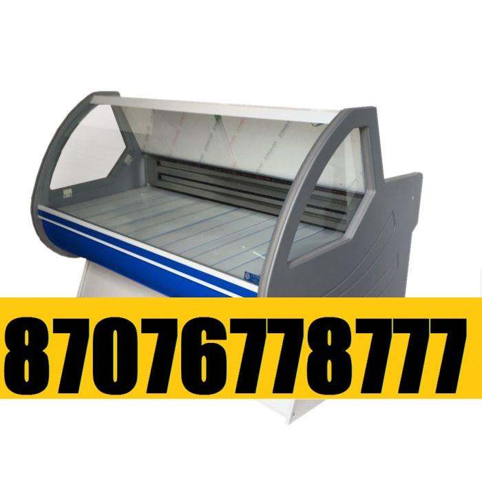 Витринный холодильник Холодильная витрина Мерей  1,8м  -5+5С