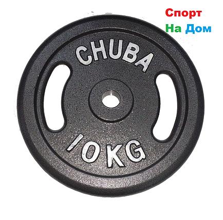 Блины для любительской штанги CHUBA на 10 кг, фото 2