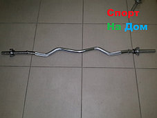Гриф любительский EZ-образный 120 см, фото 2