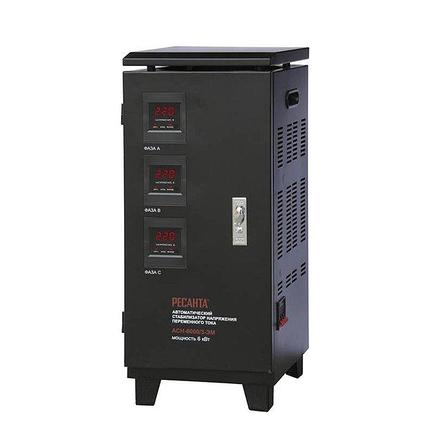 Стабилизатор напряжения Ресанта АСН 6000/3 ЭМ, фото 2