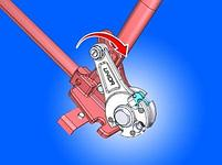 Резак для прутков с резьбой М8, М10, М12 586/6, фото 4