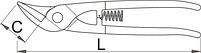 Ножницы по металлу Идеал 568L/7P, фото 2