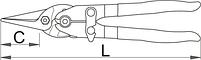 Ножницы по металлу рычажные Пеликан 591R-PLUS/3DP, фото 2