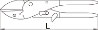Ножницы садовые секатор 550/3PR, фото 2