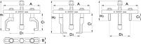 Съёмник для ребристых приводных шкивов 2208, фото 2