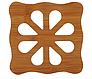 Подставка для стаканов деревянная, фото 3