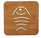 Подставка для стаканов деревянная, фото 5