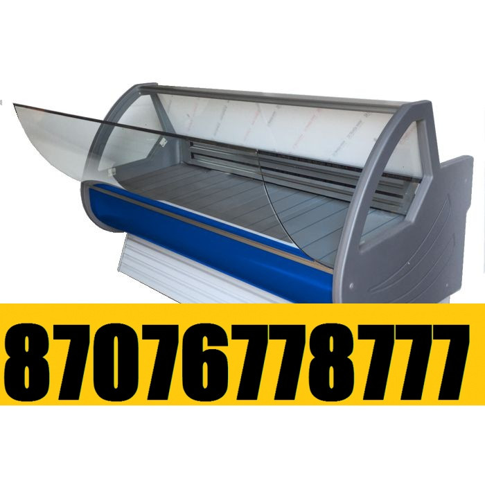 Витринный холодильник Холодильная витрина Мерей - Люкс  1,5м  0+5С