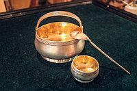 Антикварная посуда из серебра