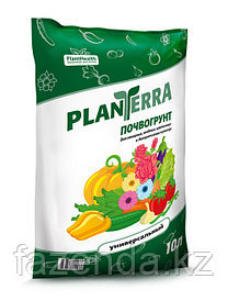 PlanTerra - биогрунт универсальный, 10л, грунт для садово-огородных растений