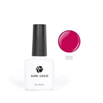 Цветной гель-лак ADRICOCO №023 темно-земляничный (8 мл.)