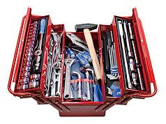 Набор инструментов универсальный, 103 предмета раскладной ящик KING TONY 902-103MR
