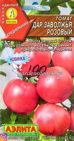 """Семена пакетированные Аэлита. Томат """"Дар Заволжья, розовый"""", фото 2"""