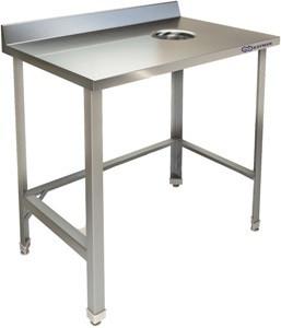 Стол для сбора отходов пристенный Kayman СП-455/0906 Л