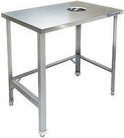 Стол для сбора отходов центральный Kayman СЦ-455/0606