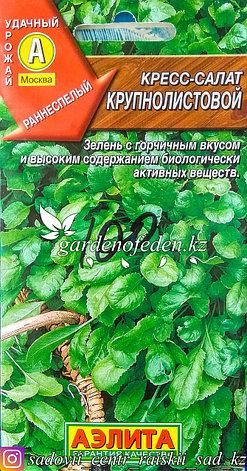 """Семена пакетированные Аэлита. Кресс-салат """"Крупнолистовой"""", фото 2"""