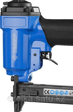 Степлер пневматический для скоб тип 53F (10-22 мм) и тип 140 (10-14 мм), ЗУБР, фото 2
