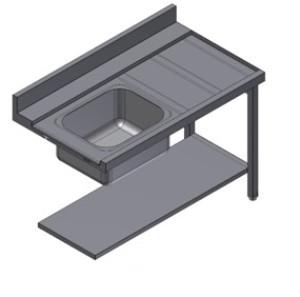 Стол для посудомоечной машины Kayman СПМ-111/0907 Л