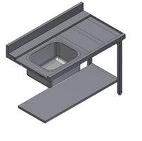Стол для посудомоечной машины Kayman СПМ-111/1207 Л