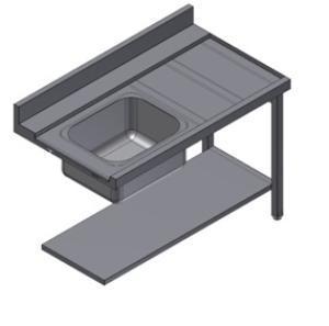 Стол для посудомоечной машины Kayman СПМ-111/1507 Л