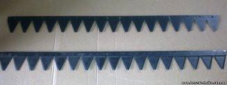 Нож 2 м сенокосилки в сборе КЗНМ-2,1 А
