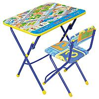 Набор мебели НИКА, ПДД (стол+стул мягк)