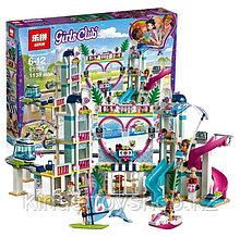 "Конструктор Lepin 01068/Lele 37086/Bela 11035 Friends ""Курорт Хартлейк Сити"" 1139 деталей аналог LEGO:41347"