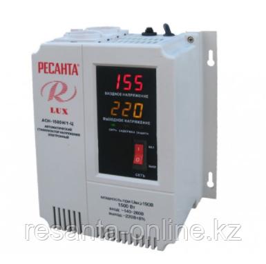 Стабилизатор напряжения Ресанта АСН 1500/1 LUX
