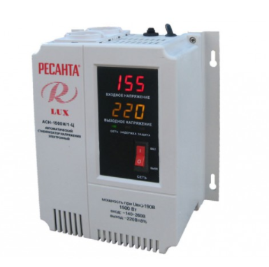 Стабилизатор напряжения Ресанта АСН 1500/1 LUX, фото 2