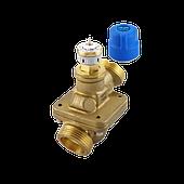 Автоматические комбинированные балансировочные клапаны AB-QM* без измерительных ниппелей