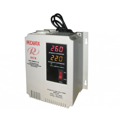 Стабилизатор напряжения Ресанта АСН 2000/1 LUX
