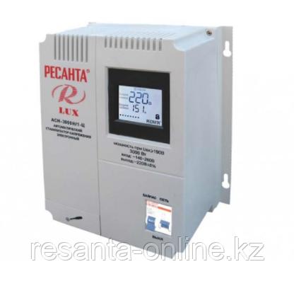 Стабилизатор напряжения Ресанта АСН 3000/1 LUX