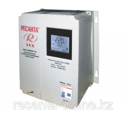 Стабилизатор напряжения Ресанта АСН 5000/1 LUX