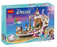 Конструктор Decool 70223/Bela 10891 аналог лего Lego Disney Королевский корабль русалочка Ариэль 41153