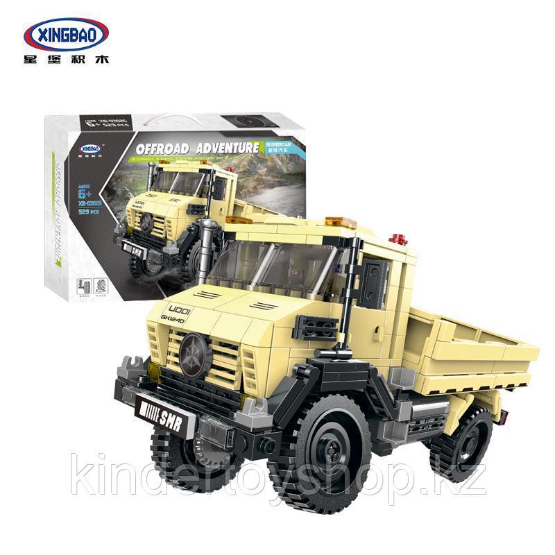 Конструктор XINGBAO XB-03026 Внедорожный грузовик 4x4 529 деталей аналог лего LEGO Внедорожный грузовик 4x4 52