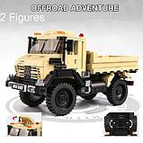 Конструктор XINGBAO XB-03026 Внедорожный грузовик 4x4 529 деталей аналог лего LEGO Внедорожный грузовик 4x4 52, фото 2
