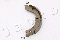 """Колодки стояночного тормоза (""""ручника"""") Nissan X-trail (T30) (Japko)"""