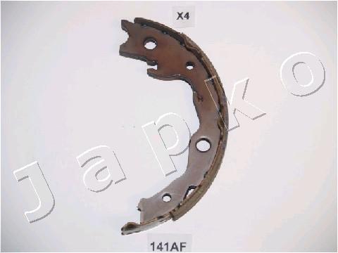 """Колодки стояночного тормоза (""""ручника"""")  Nissan Juke (10-...)  (Japko)"""