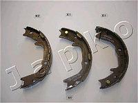 """Колодки стояночного тормоза (""""ручника"""") Mitsubishi Pajero Pinin (99-… , Japko)"""