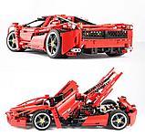 Конструктор Bela 9186 Феррари Enzo Ferrari 1:10, 1359 дет. аналог Лего Техник (LEGO Technic 8653), фото 3