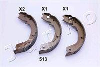 "Колодки стояночного тормоза (""ручника"") Mitsubishi Pajero (00-… , Japko)"