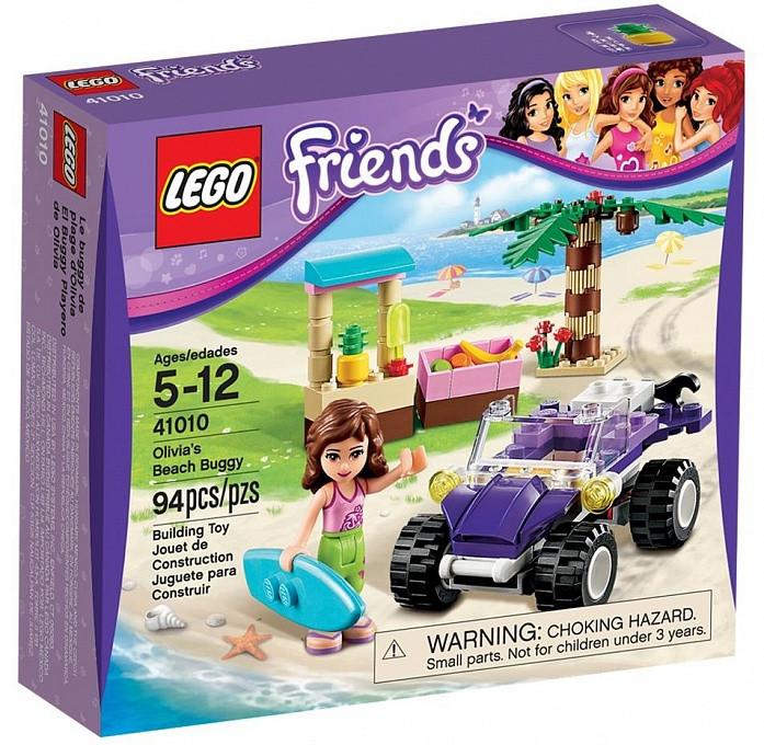 41010 Lego Friends Пляжный автомобиль Оливии, Лего Подружки