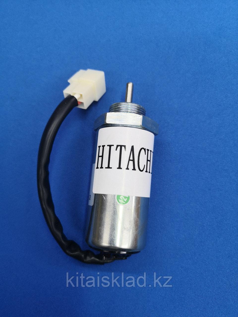 Электромагнитный клапан 897329-5680 остановки топлива, стоп-клапан HITACHI, KOMATSU, ISUZU