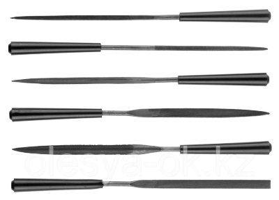 Набор надфилей, 100мм, 6шт. STAYER, фото 2
