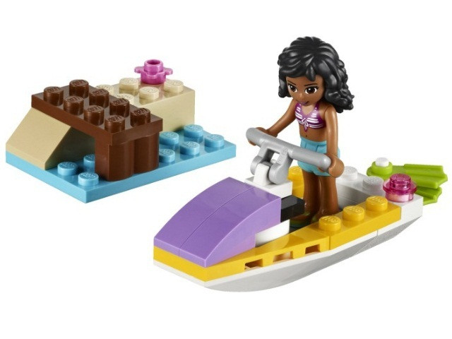 41000 Lego Friends Водный мотоцикл Эммы, Лего Подружки