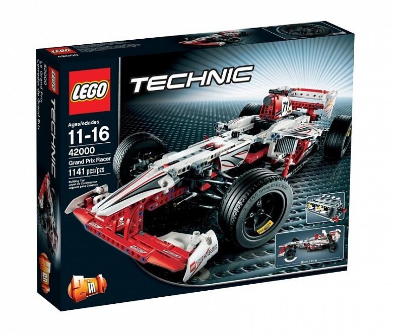 42000 Lego Technic Чемпион Гран При