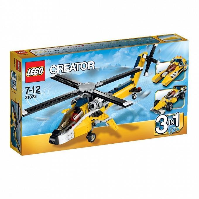 31023 Lego Creator Жёлтый скоростный вертолет, Лего Креатор
