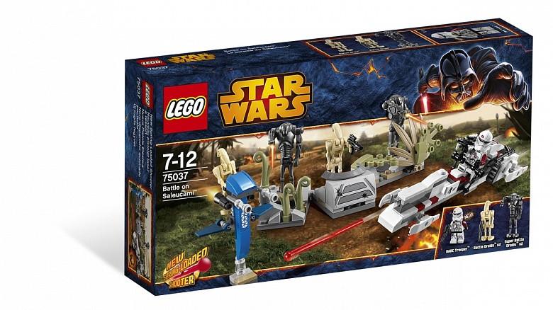 75037 Lego Star Wars Битва на планете Салукемай, Лего Звездные войны