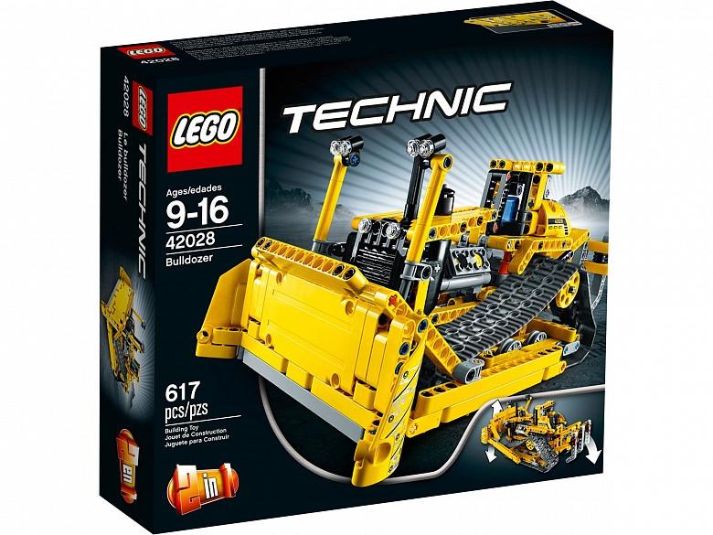 42028 Lego Technic Бульдозер