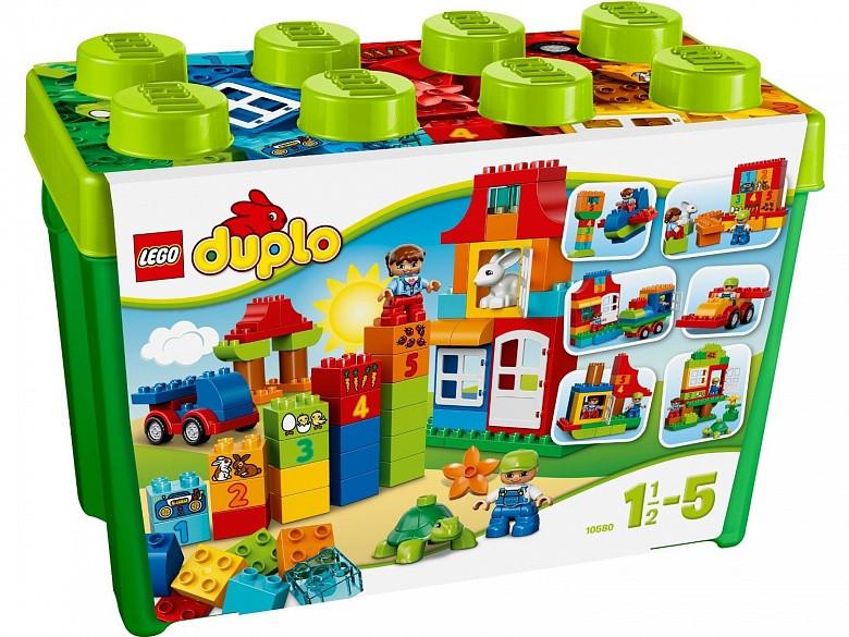 10580 Lego DUPLO Набор для весёлой игры, Лего Дупло